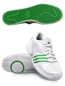 Correct Footwear for Porous Tennis Courts