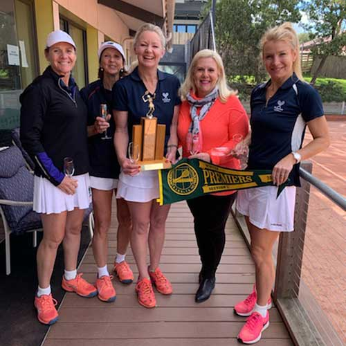 Section 1 Winners Kooyong Blue